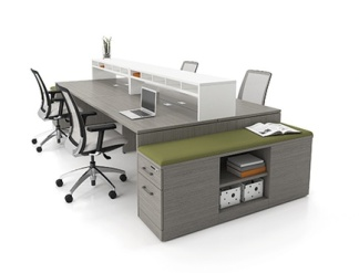 Workstation Benching System 04