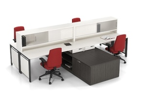 Workstation Benching System 09